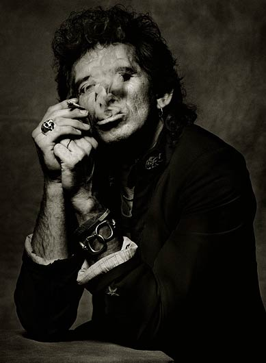 keith richards by albert watson