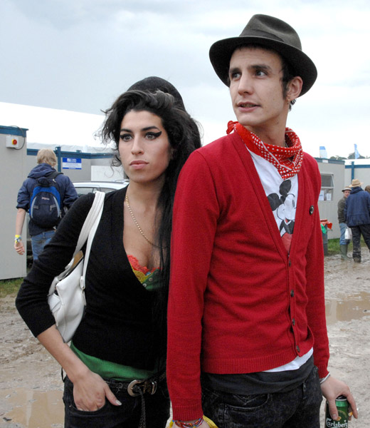 Эми Уайнхаус Amy Winehouse Blake Fielder-Civil Glastonbury Festival