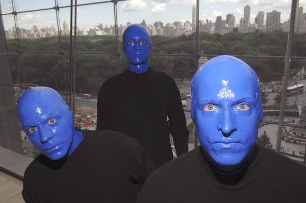 Blue Man Group XM Satellite Radio