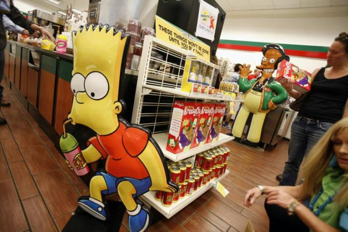 simpsons kwik-e-mart симпсоны
