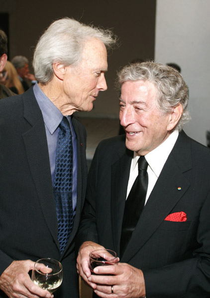 clint eastwood spirit of independence awawrd tony bennett