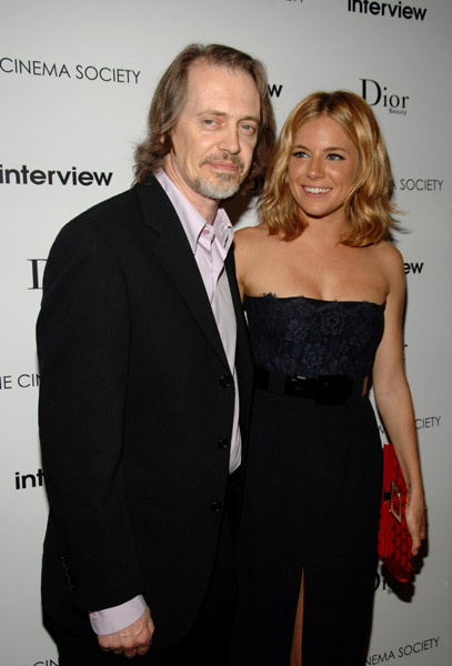 Стив Бушеми Steve Buscemi Сиенна Миллер Sienna Miller - Interview Screening