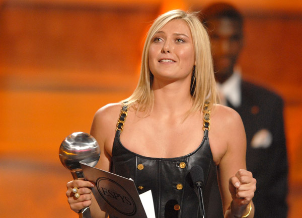 Мария Шарапова Maria Sharapova International Female Athlete ESPY Awards