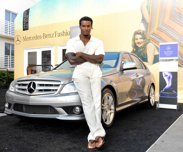 Тайсон Бекфорд Tyson Beckford Mercedes-Benz Miami Fashion Week