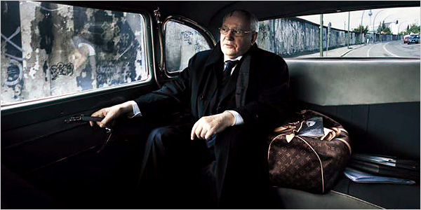 михаил горбачев vogue annie leibovitz louis vuitton