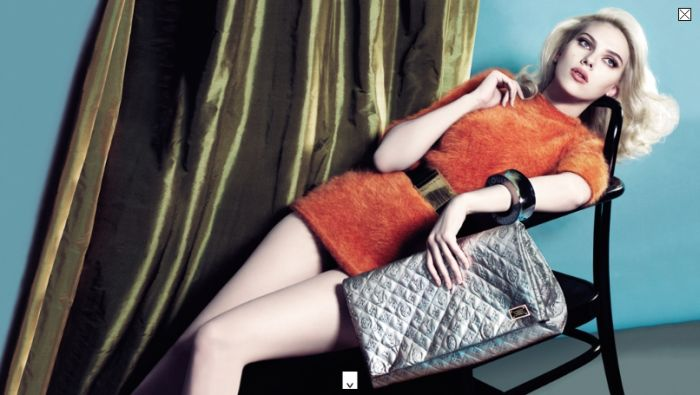 scarlett johansson advertising campaign louis vuitton