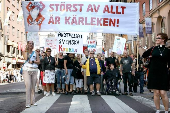 gay parade stockhoom sweden