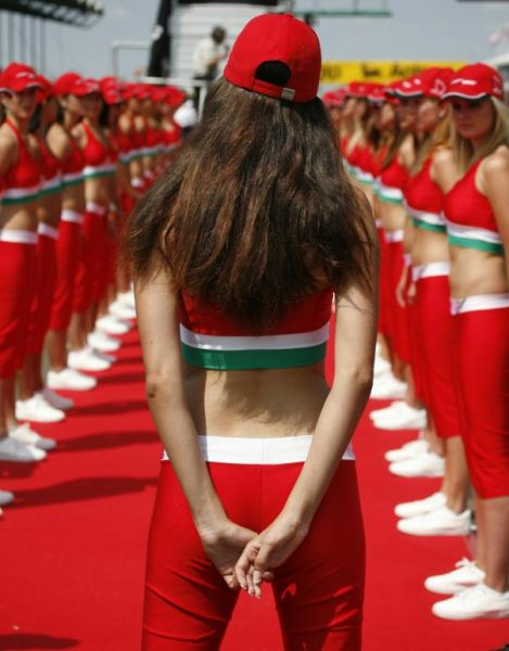 red dressed hungarian girls