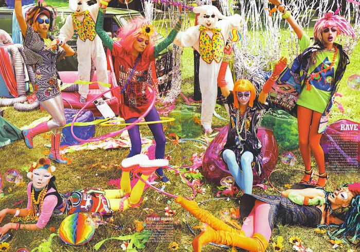 in my tribe rave fashion rocks steven meisel