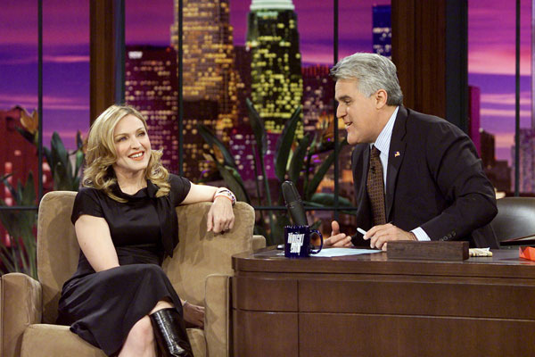 madonna the tonight show with jay leno