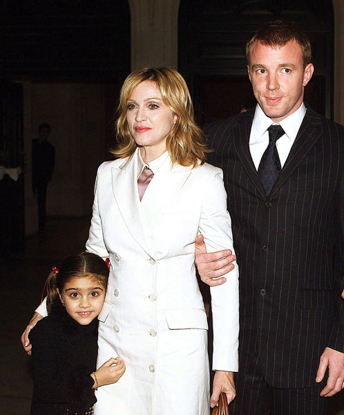 madonna guy ritchie lourdes