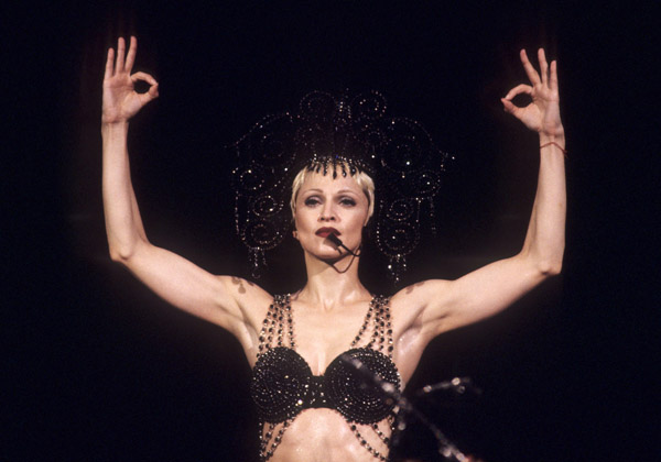 madonna girlie show tour new york