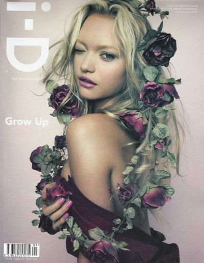gemma ward i-d magazine september 2007 cover