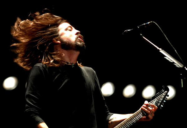 дэйв грол dave grohl foo fighters v festival