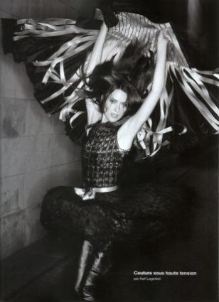 shalom harlow couture sous haute tension
