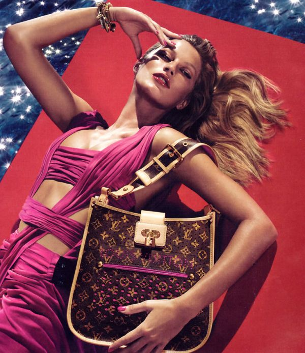 louis vuitton gisele bundchen fashion ad