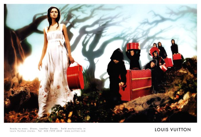 louis vuitton tasha tilberg fashion ad