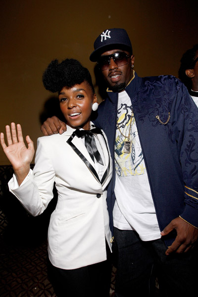 sean diddy combs janelle monae metropolis album release party