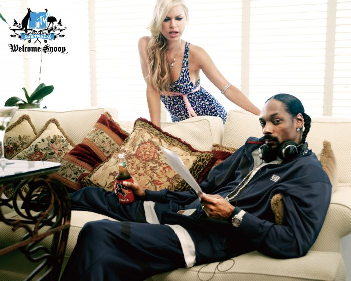 пиар акция рекламная кампания snoop dogg mtv networks australia lowe hunt sophie monk