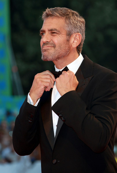 geoorge clooney venice international film festival