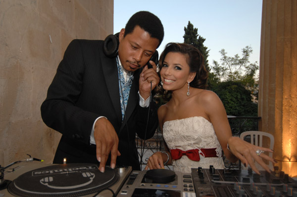 eva longoria and terrence howard attend playing for good gala night in palmas mallorca