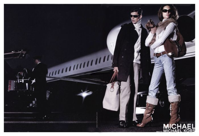 michael kors erin wasson fashion ad