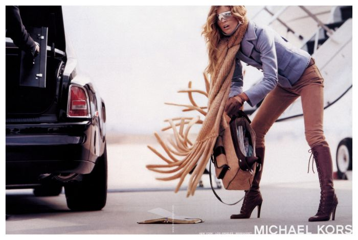 gisele bundchen michael kors fashion ad