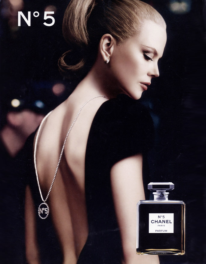 chanel nicole kidman fashion ad николь кидман