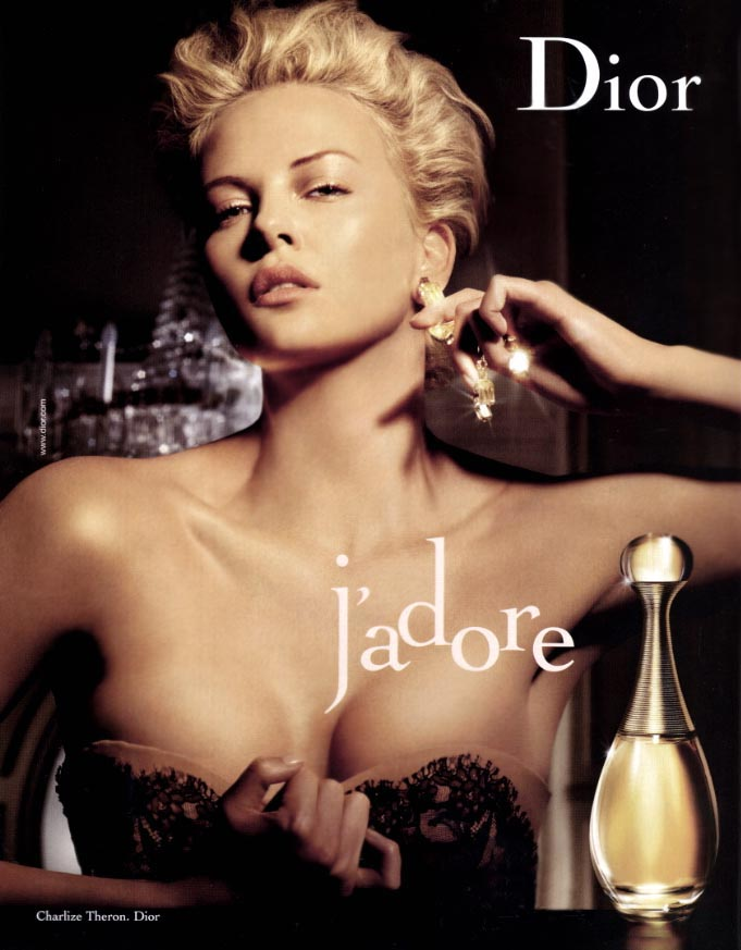 charlize theron christian dior fashion ad шарлиз терон