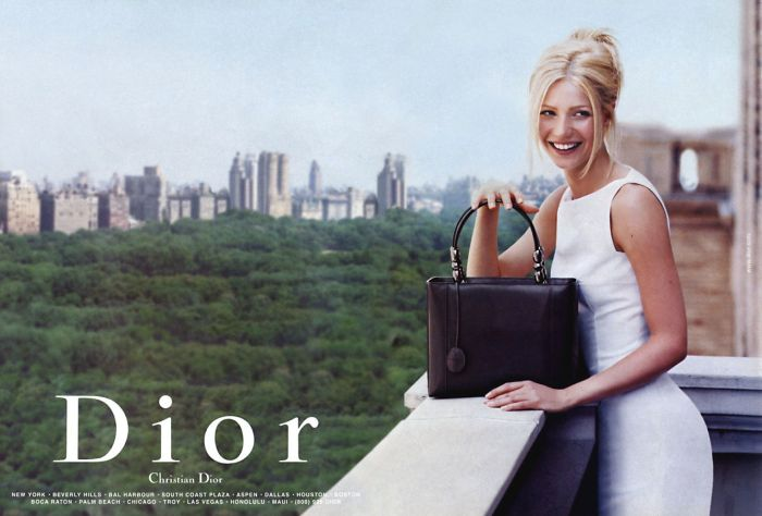 christian dior gwyneth paltrow fashion ad гвинет пэлтроу