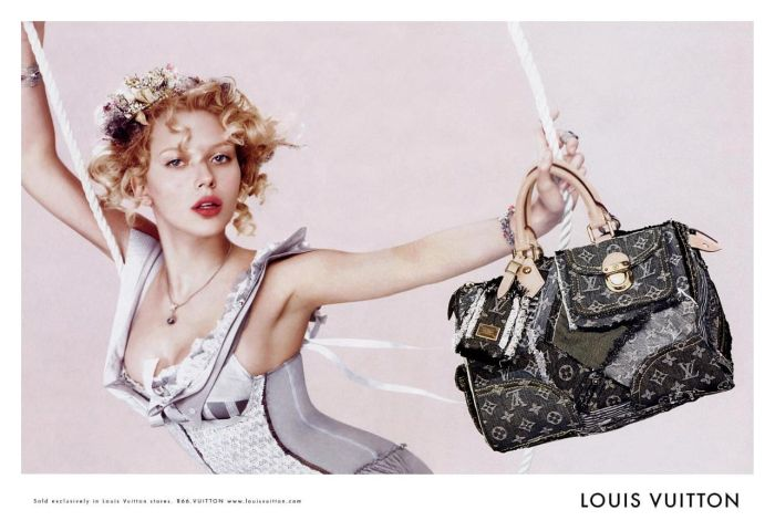 scarlett johansson louis vuitton fashion ad скарлетт джоханссон