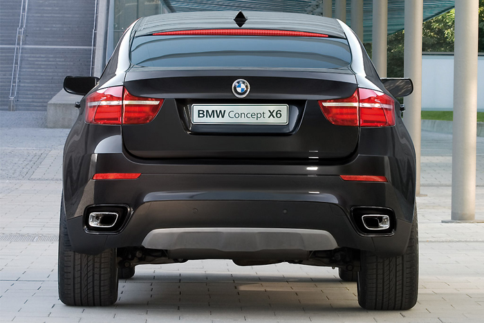 BMW X6 Concept back