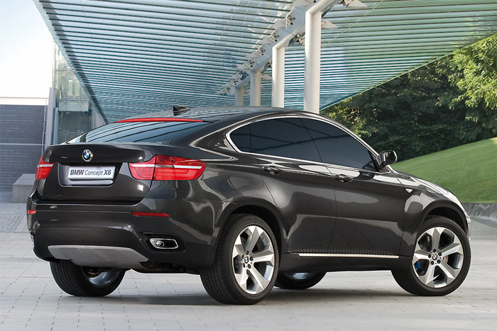 BMW X6 Concept 3/4 back