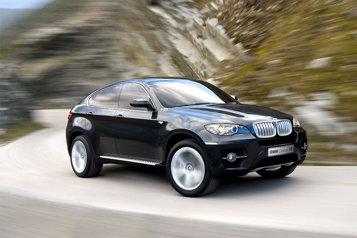 BMW X6 Concept 3/4 another face movt