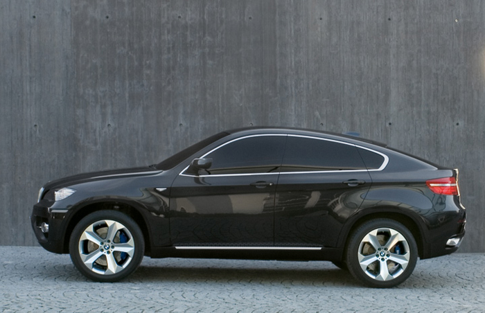 BMW X6 Concept side