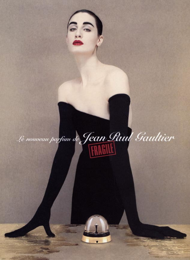 jean paul gaultier erin oconnor fashion ad