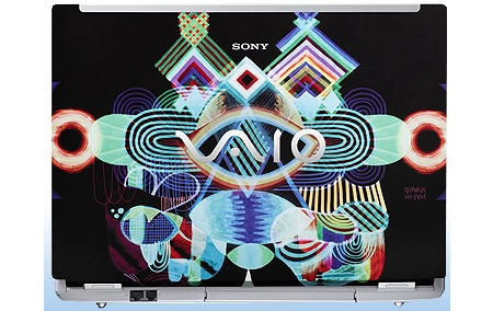 ноутбук Sony VAIO Graphic Splash Maya Hayuk
