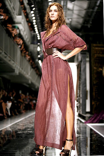 gianfranco ferre last collection at milan fashion week