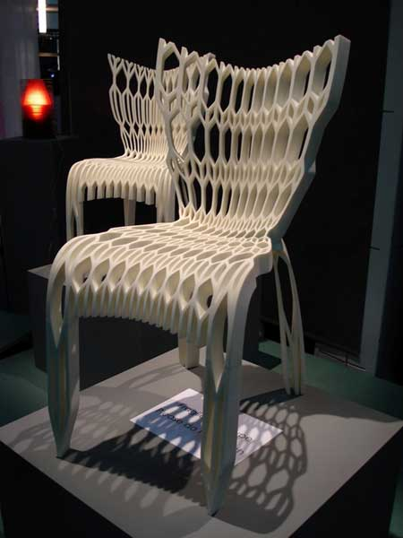 Ammar Eloueini and Francoise Brument's Chair #71