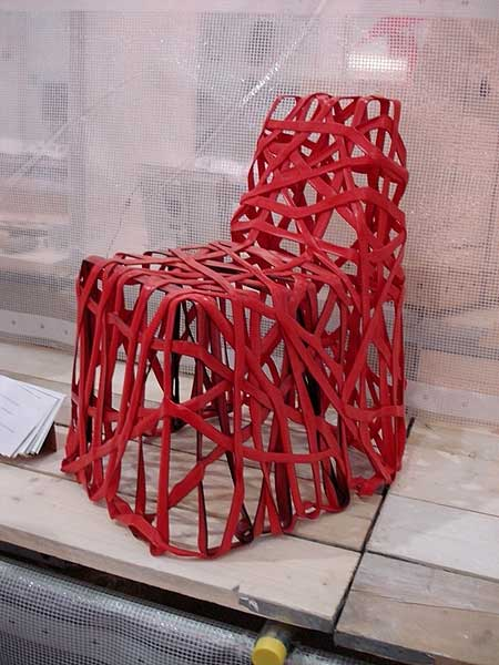 Cohda's (RD4) Roughly Drawn Chair in 100% Plastic Waste
