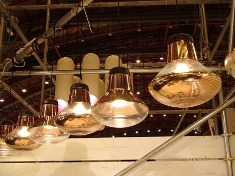 Tom Dixon's New pendant light