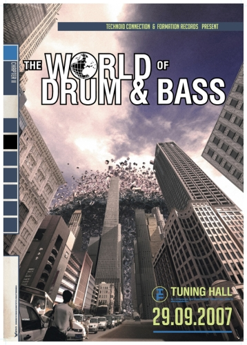 The World Of Drum & Bass Noisia, TC, Hazard, Future Prophecies, Ed Rush, DJ SS, Nero, MC Jakes, MC Tali