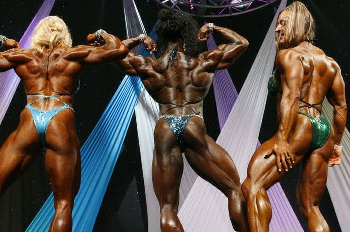 women in bodybuilding