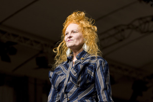 vivienne westwood at paris fashion week вивьен вествуд на неделе моды в париже