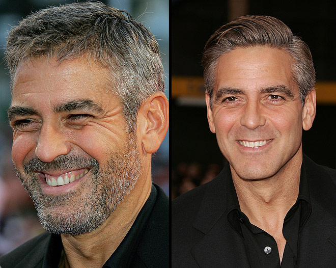 george clooney with beard джордж клуни с бородой