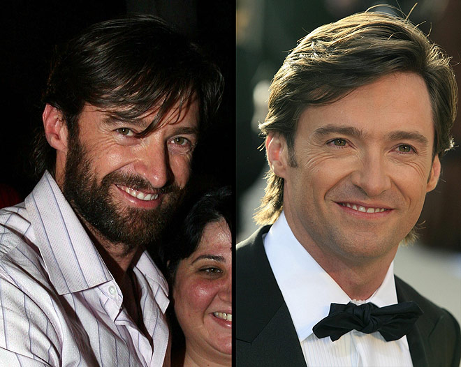 hugh jackman with beard хью джекман с бородой