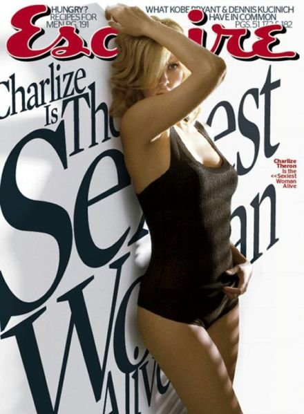 sexy charlize theron esquire