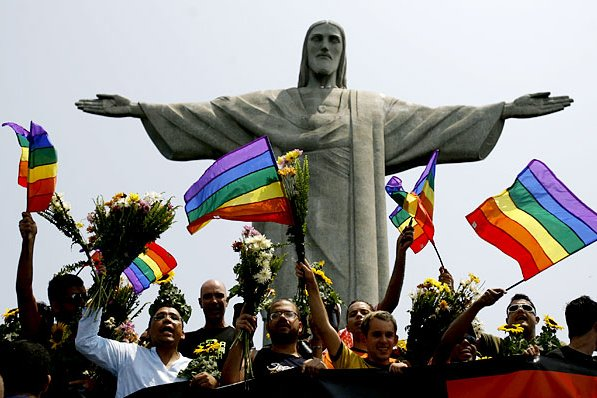 gay parade in brazil