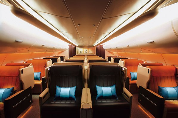 luxury airbus a-380
