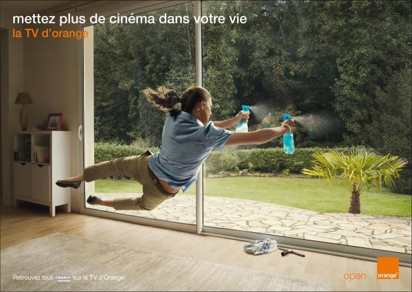 orange tv ad print add more cineman in your life